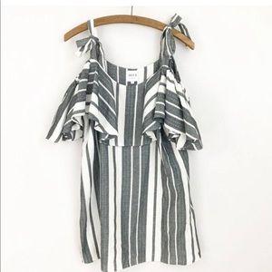 Misa Los Angeles medium stripe dress
